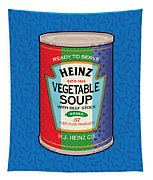 Pop Vegetable Soup Tapestry by Gary Grayson