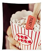 Popcorn Box Office Tapestry