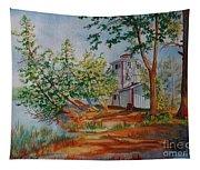 Poplar Point Lighthouse Tapestry
