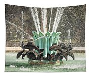 Popp Fountain In City Park New Orleans Tapestry