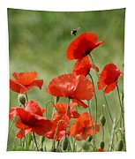 Poppies 1 Tapestry