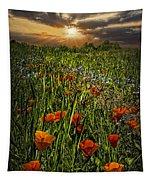 Poppies Art Tapestry
