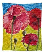 Poppy Family Tapestry