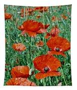 Poppy Field 2 Tapestry