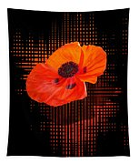 Poppy Passion Tapestry