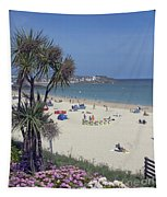 Porthminster Beach Cornwall Tapestry