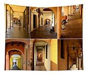 Porticos Of Padua No 2 Tapestry
