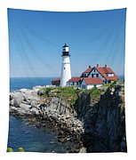 Portland Lighthouse 2 Tapestry