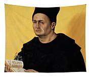 Portrait Of A Benedictine Abbot Tapestry