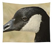 Portrait Of A Canadian Goose  Tapestry