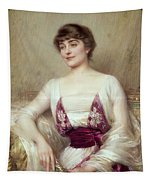 Portrait Of A Countess Tapestry