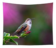 Portrait Of A Hummer 2 Tapestry