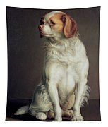 Portrait Of A King Charles Spaniel Tapestry