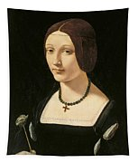 Portrait Of A Lady As Saint Lucy Tapestry
