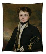 Portrait Of A Midshipman Tapestry
