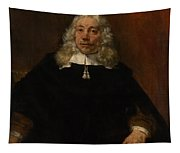 Portrait Of A White-haired Man Tapestry