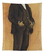 Portrait Of Arcadi Mas I Fondevila Tapestry