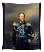 Portrait Of Count Alexander Benkendorff Tapestry