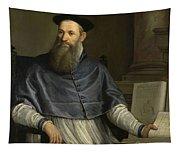 Portrait Of Daniele Barbaro Tapestry