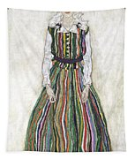 Portrait Of Edith Schiele, The Artists Tapestry