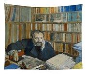 Portrait Of Edmond Duranty, 1879 Tapestry