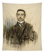 Portrait Of Eduardo Chicharro Tapestry