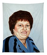 Portrait Of Essie Simon  Tapestry