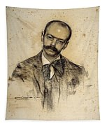 Portrait Of Gabriel Alomar Tapestry
