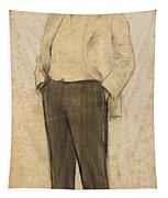 Portrait Of Hermenegild Miralles Tapestry