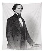 Portrait Of Jefferson Davis Tapestry