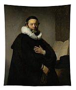 Portrait Of John Wtenbogaert Tapestry