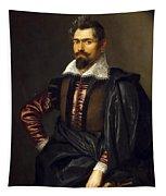 Portrait Of Kaspar Scioppius Tapestry