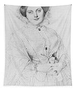 Portrait Of Madame Ingres Tapestry