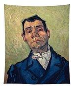 Portrait Of Man Tapestry