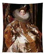 Portrait Of Maria Serra Pallavicino Tapestry