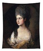 Portrait Of Miss Elizabeth Linley  Later Mrs Richard Brinsley Sheridan Tapestry