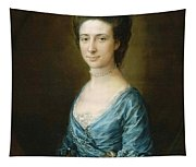 Portrait Of Mrs Clement Tudway Tapestry