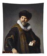 Portrait Of Nicolaes Ruts Tapestry
