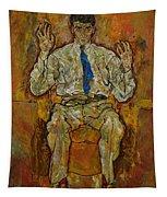 Portrait Of Paris Von Gutersloh Tapestry