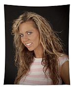Portrait Of Sarah Tapestry