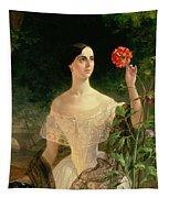 Portrait Of Sofia Andreyevna Shuvalova Tapestry