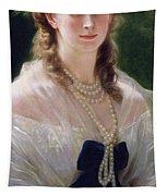 Portrait Of Sophie Troubetskoy  Tapestry