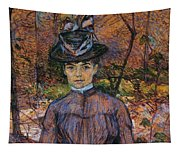 Portrait Of Suzanne Valadon Tapestry