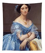 Portrait Of The Princesse De Broglie Tapestry