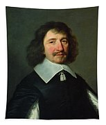Portrait Of Vincent Voiture 1597-1648 C.1643-44 Oil On Canvas Tapestry
