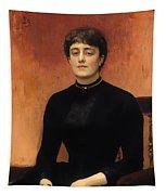 Portrat Of Jelizaveta Tapestry