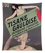 Poster Advertising Tisane Gauloise Tapestry