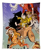 Poster For Aux Buttes Chaumont Toy Tapestry