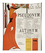 Poster For 'the Pseudonym And Autonym Libraries' Tapestry