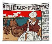 Poster Sardines, 1899 Tapestry